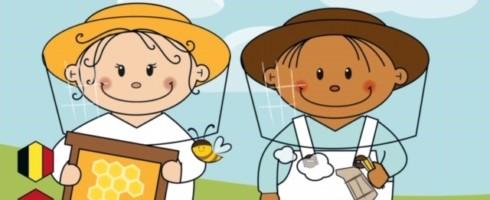 Zoek de bloem en leer samen met imkers Juliette en Juliaan over het leven van de bijen.
